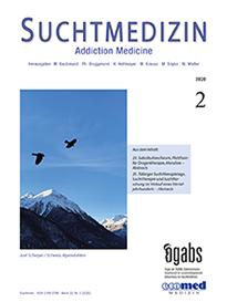 suchtmedizin band 22, nr. 2-2020 - Image