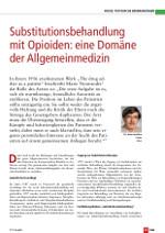 allgemeinmedizin und substitutionstherapie - Image