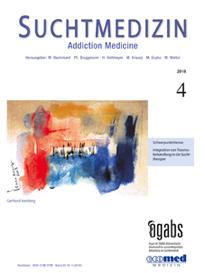 suchtmedizin band 20, nr. 4-2018 - Image