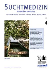 suchtmedizin band 22, nr. 4-2020 - Image