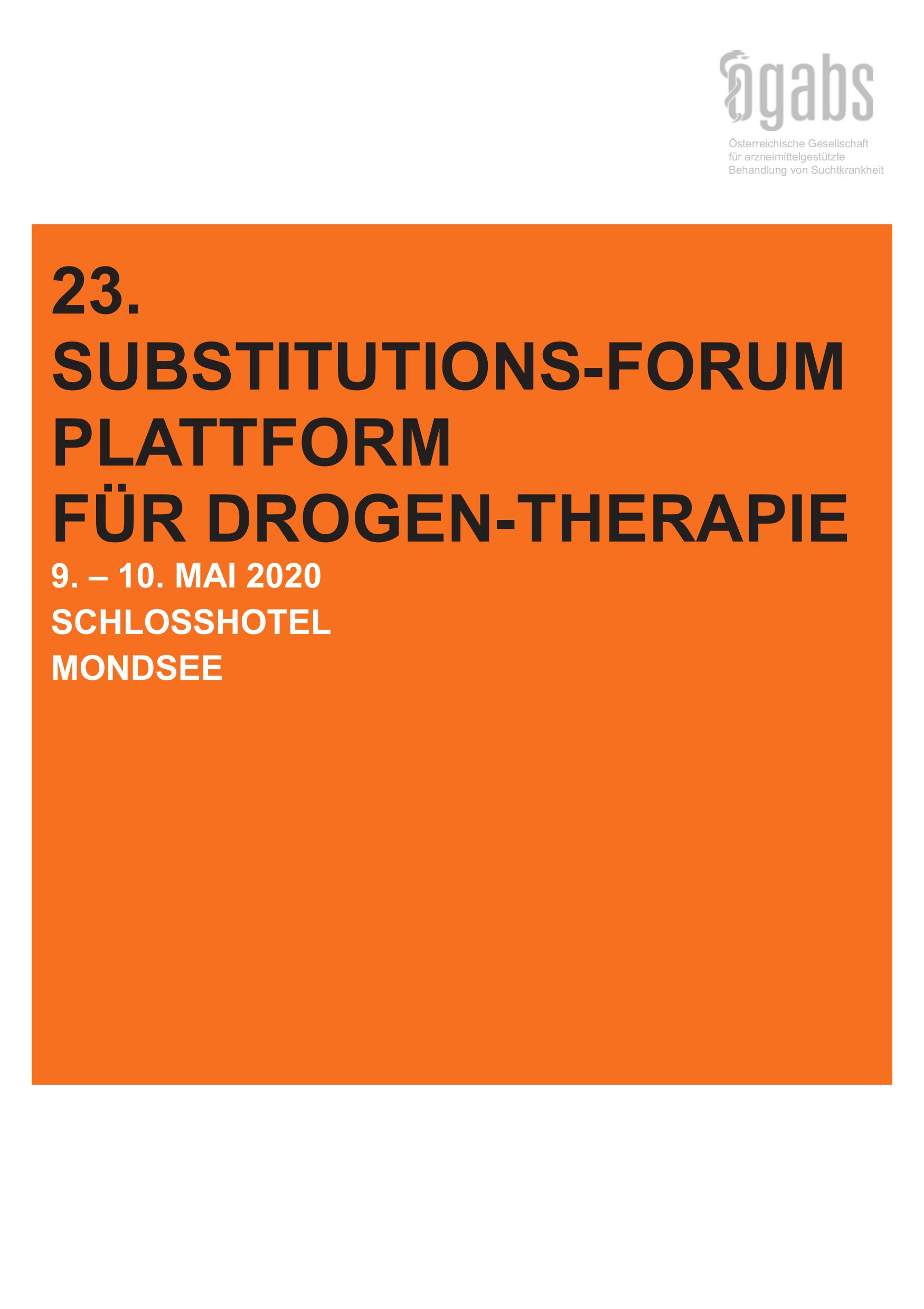 23. Substitutions-Forum